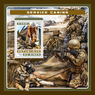 NIGER 2016 ** Service Dogs Hunde Chiens S/S - OFFICIAL ISSUE - A1707