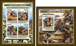 NIGER 2016 ** Service Dogs Hunde Chiens M/S+S/S - OFFICIAL ISSUE - A1707