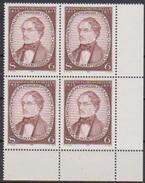 Österreich  1981 Nr.1676 4er Block** Postfrisch Intern. Kongreß Für Klinische Chemie ( 4361 )