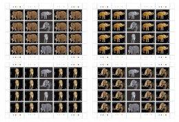 NIGER 2016 ** Elephant Elefanten M/S - OFFICIAL ISSUE - A1707