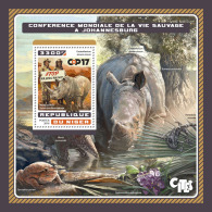 NIGER 2016 ** Rhinoceros Nashorn COP17 CITES S/S - OFFICIAL ISSUE - A1707