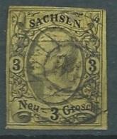 Saxe    - Yvert N° 10 Oblitéré     - Cw 238 35