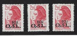 Frankrijk  ECU Zegels Yv 2530 - Neufs