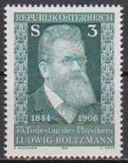 Österreich  1981 Nr.1677** Postfrisch 75.Todestag Ludwig Boltzmann ( 4362 )
