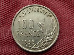 FRANCE Monnaie De 100 Francs 1958 RARE - France