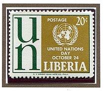 Liberia ** N° 381 - Journée Des Nations Unies -