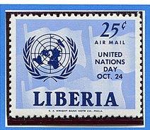 Liberia ** PA 134 - Journée Des Nations Unies -