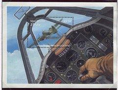 Maldives ** Bloc N° 186 - Avion De Guerre -