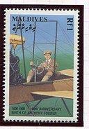 Maldives ** N° 1326 - 100e Ann.  De La Naissance D'Anthony Fokker -