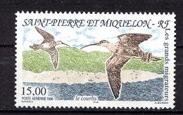 Saint Pierre & Miquelon Yvert Pa75 Neuf ** MNH Oiseau Bird Vogel Le Courlis