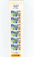 Carnets Journée Du Timbre  Année 1990 En Oblitéré Roppenheim (Bas-Rhin) Le 12/8/1990  TTB - Stamp Day