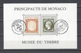 MONACO . YT Bloc 58 Neuf ** Création Du Musée Du Timbre-Poste 1992