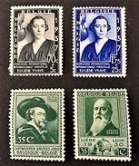 1930-1938 Ausstellungen Mi,-Nr.276 *),277 *),Konigin Elisabeth 453-454 *)