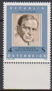 Österreich  1981 Nr.1678 ** Postfrisch 100. Geb. Otto Bauer ( 4370 )