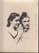 Foto, Fanny Pregizer Und Julie Tritschler, Foto: W. Hornung, Tübingen, 1888 - Alte (vor 1900)