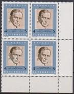 Österreich  1981 Nr.1678 4er Block ** Postfrisch 100. Geb. Otto Bauer ( 4371 )
