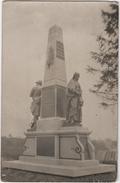 Carte Photo 02 BUCILLY Monument Aux Morts Brouet Camille Terrien Jules