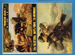 MILITARI - 2 Cartoline. RIPRODUZIONE.   Vedi Descrizione - War 1939-45