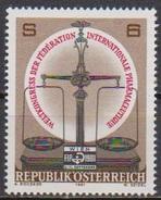Österreich  1981 Nr.1679 ** Postfrisch Weltkongreß Der Federation Internationale Pharmceutique ( 4372 )