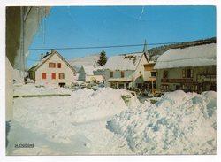 CORRENCON EN VERCORS---Le Village (neige) Cpsm N°38.129.21  éd La Cigogne - France