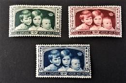 """1935 Pour L """"Enfant Yv.396-398 *)"""