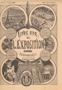 1889 L'Exposition Universelle 3 REVUES N°8, 11 Et 13. Très Belles Et Nombreuses Illustrations. - Revues Anciennes - Avant 1900