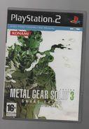 METAL GEAR SOLID 3 SUR PS2..NICKEL SANS NOTICE - Sony PlayStation