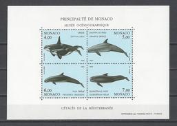 MONACO . YT Bloc 64 Neuf ** Protection De L'environnement Marin 1994