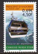 Andorra French 2001 Canillo Agilo Club, MNH (A)