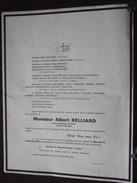 14 Ste-MARGUERITE-de-VIETTE - Faire-Part De Décès - M Albert BELLIARD - Anc. Combattant - Le 12 Septembre 1971 - A VOIR! - Obituary Notices