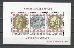 MONACO . YT Bloc 66 Neuf ** Inauguration Du Musée Des Timbres Et Des Monnaies 1994