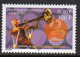 Andorra French 2001 Jazz Festival, MNH (A)