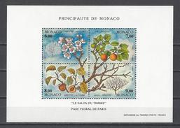 MONACO . YT Bloc 67 Neuf ** Le Salon Du Timbre Au Parc Floral De Paris 1994
