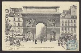 D 75 - PARIS - Porte Saint-Martin - BF 14 - Arrondissement: 02