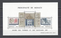 MONACO . YT Bloc 69 Neuf ** Musée Des Timbres Et Des Monnaies 1995