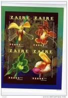 Zaire-1996-Orchidées-B73A     Non Dentelé***MNH-COTE 40 EURO