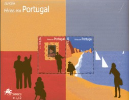 CEPT Ferien Holidays Portugal Block 196 ** Postfrisch MNH - 2004