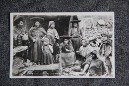 Indios Del Pueblo De QUIQUORONA - Peru