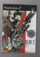 METAL GEAR SOLID 2  SONS OF LIBERTY SUR PS2...NICKEL... AVEC NOTICE + DVD MAKING OFF - Sony PlayStation