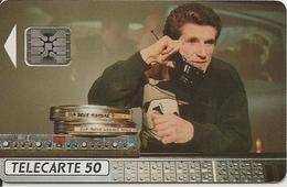 CARTE^-PUCE-PUBLIC-50U-F235a-SC5-02/92-LELOUCH CINEMA 2-V° 9 N° Gd Emboutis C 22036456 0 Envers-UTILISE-TBE-TRES RARE - France