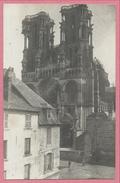 02 - LAON - Carte Photo Allemande - Cathédrale - Guerre 14/18