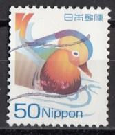 3002 Giappone 2007 Anatra Mandarino  Mandarin Duck  Used Japan Nippon - Ducks