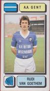 Panini Football 83 Voetbal Belgie Belgique 1983 Sticker AA KAA Gent La Gantoise Nr. 118 Rudi Van Goethem - Sport