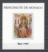 MONACO . YT Bloc 79 Neuf ** Noël 1998