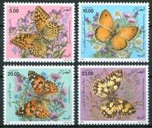 1996 Algeria Farfalle Butterflies Schmetterlinge Papillons Set MNH** B575