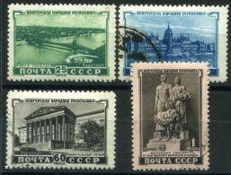 RUSSIE ( POSTE ) : Y&T N°  1541/1544  TIMBRES   BIEN  OBLITERES , A  VOIR .
