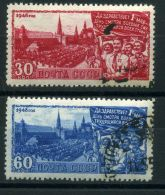 RUSSIE ( POSTE ) : Y&T N°  1209/1210  TIMBRES   BIEN  OBLITERES , A  VOIR .