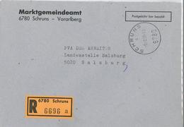 Vorarlberg Montafon Schruns 1995 Pbb Marktgemeindeamt Dienstpost Pva Arbeiterr 6780