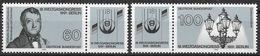 Bund 1991 / MiNr.   1537 – 1538  2 X Zierfeld  ** / MNH   (e556)