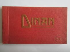 22 Côte D'Armor Dinan  Carnet  Cartes Postales Détachables Albums